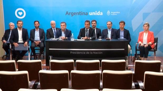 La semana pasada los jefes de todos los bloques se reunieron con Alberto Fernández en Casa Rosada
