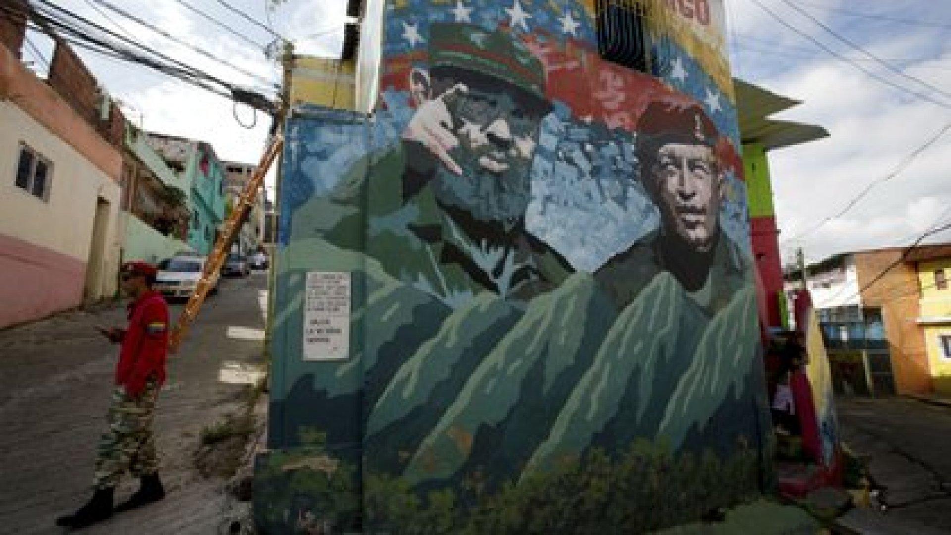 Venezuela no sólo brindó asistencia económica a Cuba sino que le abrió las puertas, literalmente, del gobierno.