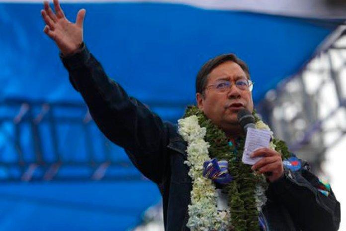 En la imagen, el presidente electo de Bolivia, Luis Arce. EFE/Martin Alipaz