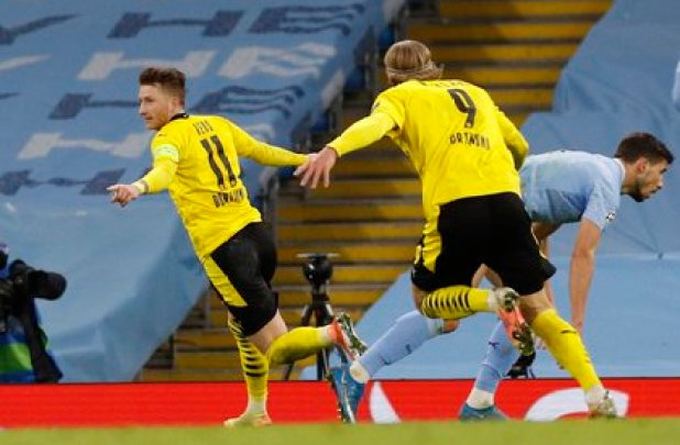 Reus marked 1 to 1 partial (Reuters)