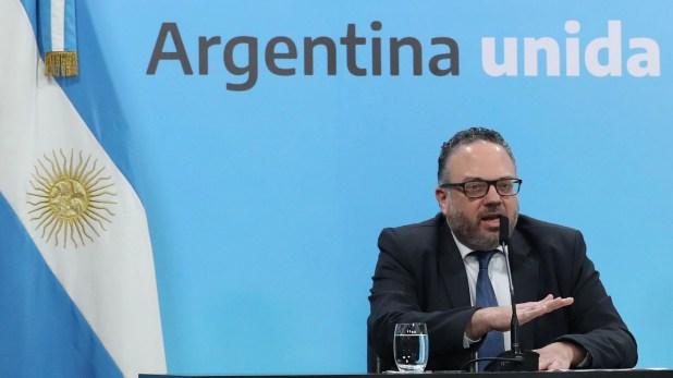 Matías Kulfas analizó con gobernadores del Alto Valle la situación de los productores de frutas (Prensa Presidencia)