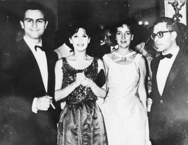 Con Leonardo Favio, Graciela Borges y Beatriz Guido (Gentileza ciudaddemendoza.gob.ar)
