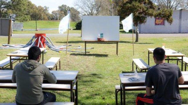 El Parque de la Ciudad también sería utilizado para la actividad educativa