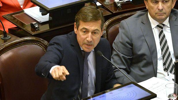 Luis Naidenoff presidente del interbloque de Juntos por el Cambio (Gustavo Gavotti)