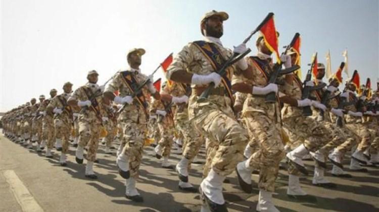 La Guardia Revolucionaria Iraní (IRGC) controla a las fuerzas persas en el extranjero