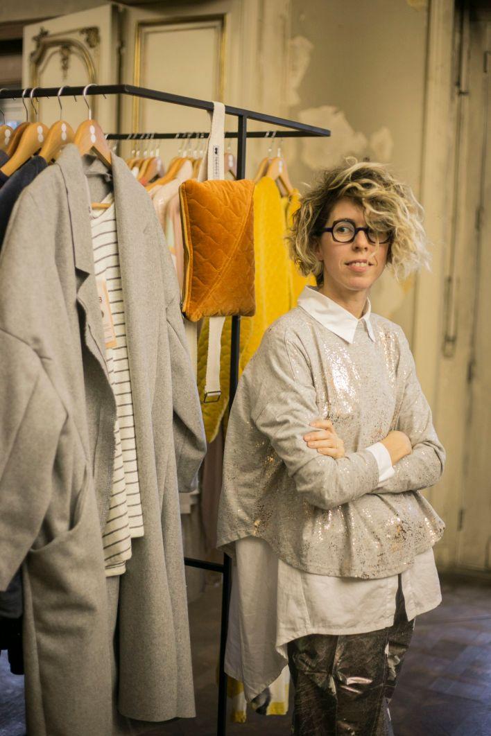 Luz Ballestero, la diseñadora que hace talle único