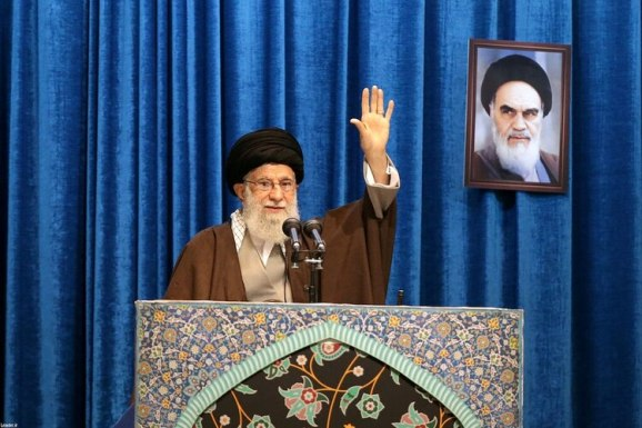El ayatollah Ali Khamenei en Teherán el 17 de enero de 2020 (Official Khamenei website/Handout via REUTERS)