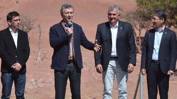 Macri en Jujuy en el 2017. (Juan Fernández)