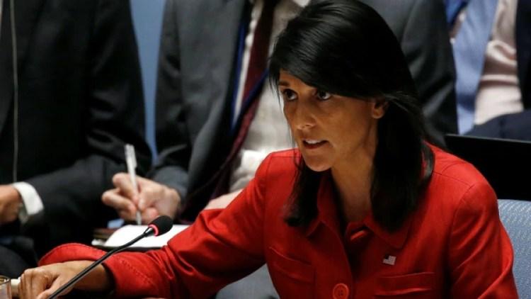 Nikki Haley aclaró que deben suceder muchas cosas antes de negociar con Corea del Norte