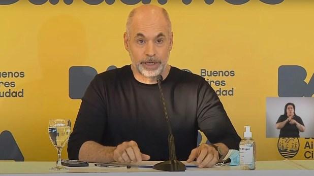 Rodríguez Larreta anuncia las nuevas medidas para la ciudad de Buenos Aires