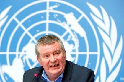 Uno de los responsables de la lucha contra la pandemia en la Organización Mundial de la Salud (OMS), Mike Ryan. EFE/Salvatore Di Nolfi/Archivo