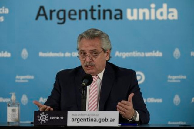 El presidente Alberto Fernández (EFE)