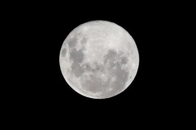 La luna estará entre un 12 y un 29 por ciento más grande que lo habitual