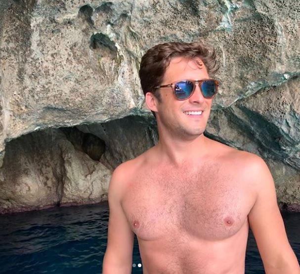 Diego Boneta en Capri, Italia. (Foto: Instagram)