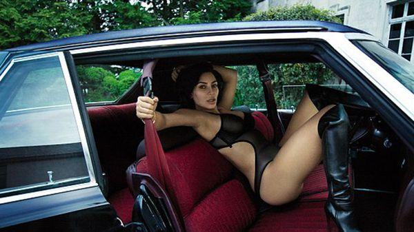 Kim Kardashian para la revista GQ
