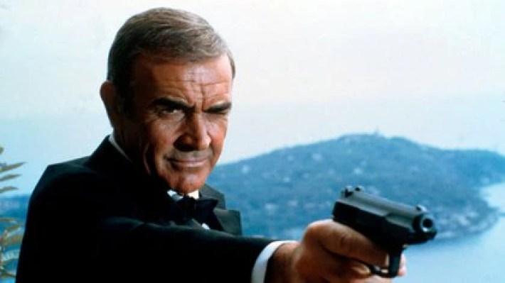 Sean Connery, como James Bond (Shutterstock)