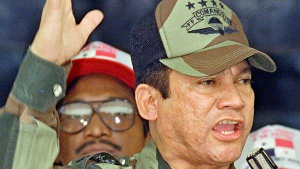 El régimen de Noriega tuvo lugar entre 1983 y 1989