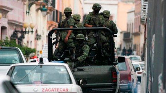 Imagen ilustrativa de fuerzas armadas en Zacatecas (Foto: Cuartoscuro)