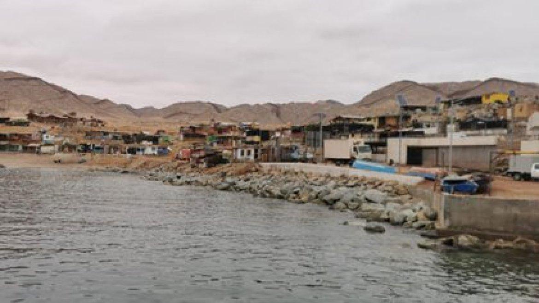 Caleta Cifuncho ubicada en la región de Antofagasta