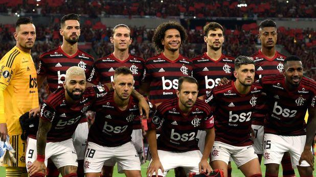 Flamengo llegó a la final de la Copa Libertadores (Foto de Mauro  Pimentel/ AFP)