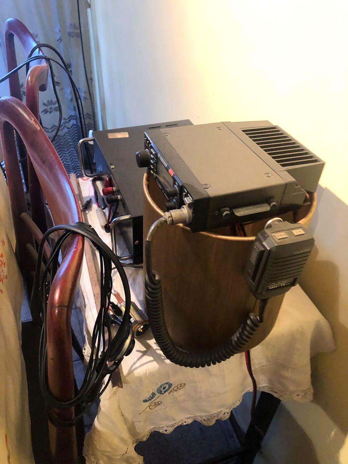 Algunos de los equipos electrónicos detectados.