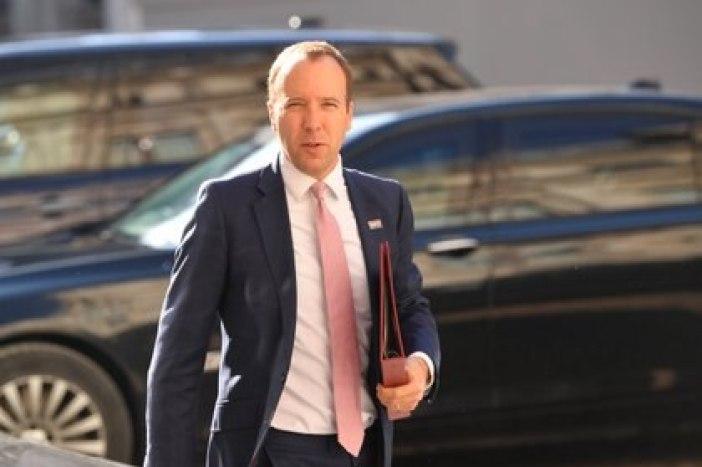 El ministro de Salud británico Matt Hancock (REUTERS/Toby Melville)