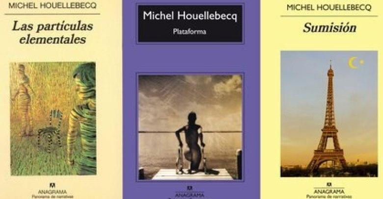 Todas las novelas de Houellebecq están en la plataforma Leamos.com