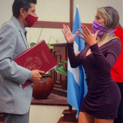 Candela Correa, en funciones