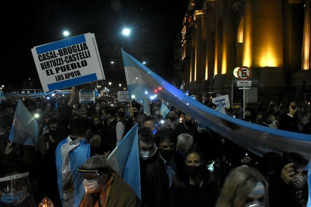 protesta justicia tribunales 23 septiembre