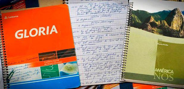 Los cuadernos de Centeno que destaparon una trama de corrupción entre funcionarios y empresarios