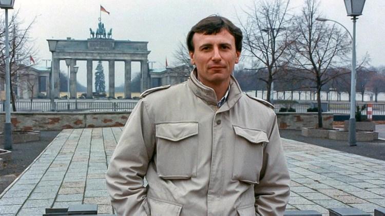 Lionel Cironneau era el enviado de AP en Berlín en noviembre de 1989 (Gentileza Lionel Cironneau)