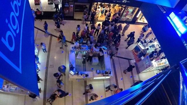 Las ventas en shoppings retrocedieron 15,1% interanual (Gustavo Gavotti)