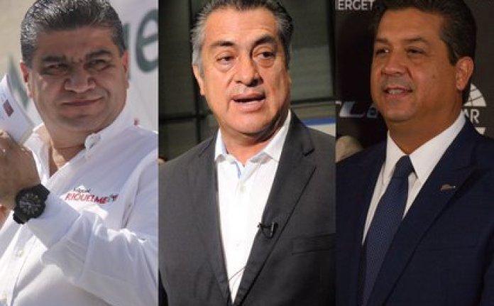 Jaime Rodríguez, El Bronco, Nuevo León, Miguel Riquelme, Coahuila, and Francisco García Cabeza de Vaca, Tamaulipas, started what is today the Federalist Alliance (Photo: Cuartoscuro)