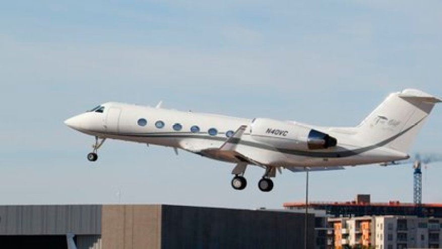The Gulfstream IV (N40VC) is owned by private company SK AVIATION LLC (Photo: flightaware.com)