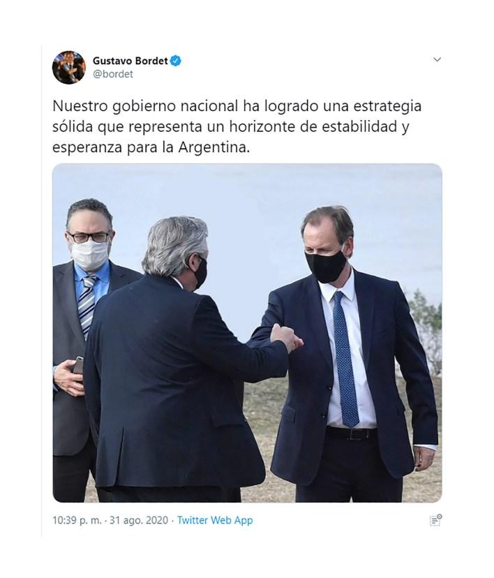 GUSTAVO BORDET Y ALBERTO FERNANDEZ