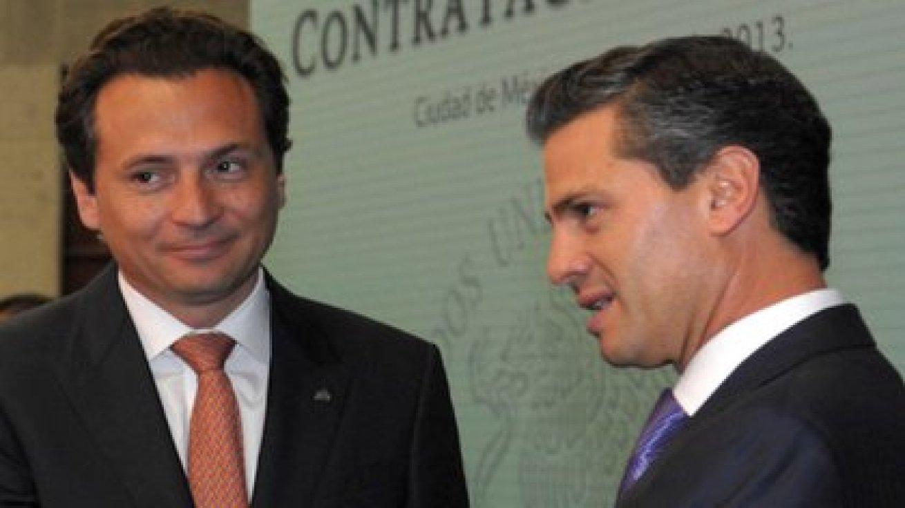 Emilio Lozoya y Enrique Peña Nieto (Foto: Cuartoscuro)