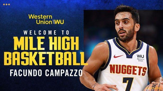 Facundo Campazzo firmó por las próximas dos temporadas con los Denver Nuggets