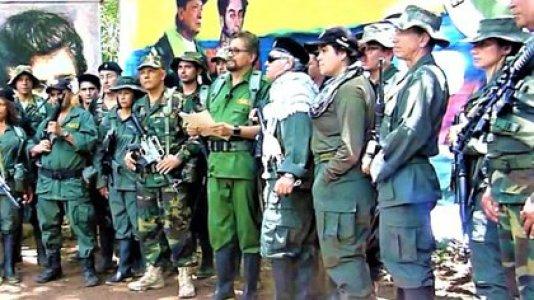 Las FARC de Santrich y Márquez cuando anunciaron la Segunda Marquetalia