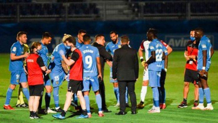 El Fuenlabrada necesita un triunfo para acceder a los Playoffs por el ascenso a La Liga (Foto: CF Fuenlabrada)
