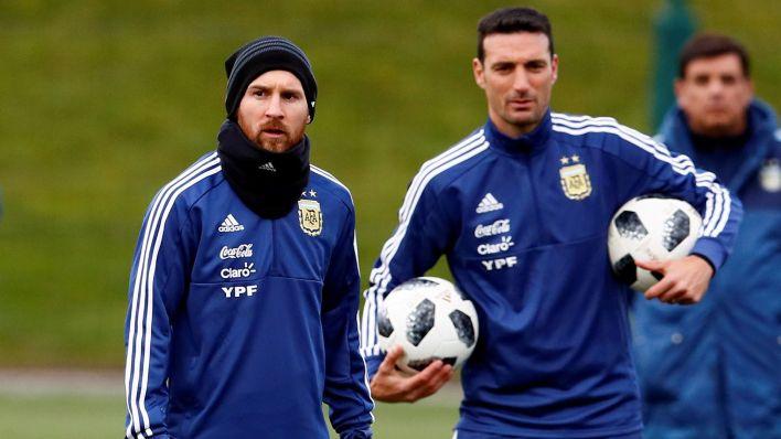Simeone habló de Messi y Scaloni en la Copa América (Reuters)