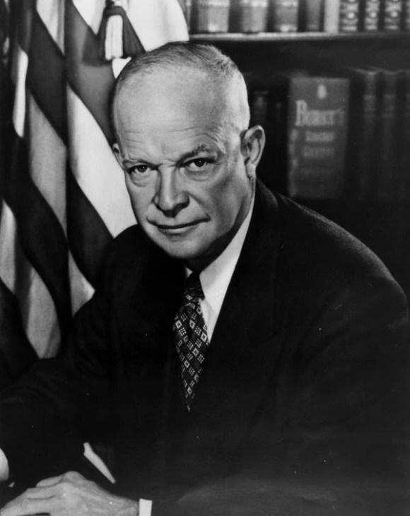 Dwight Eisenhower llevó a la Casa Blanca su carisma como general comandante durante la Segunda Guerra Mundial.