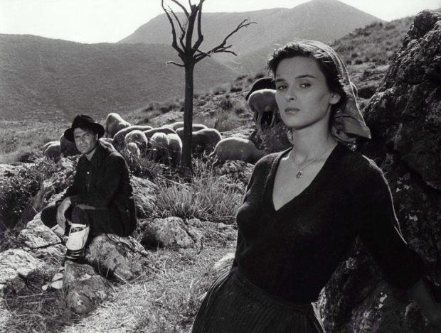 Raf Vallone y Lucia Bose en