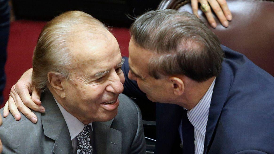 Carlos Menem y Miguel Ángel Pichetto: dos amigos de la política que ejercieron juntos el poder