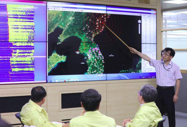 Se registró un sismo este sábado en la parte noreste de Corea del Norte (AFP)