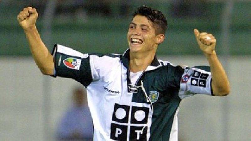 En 2003 Ronaldo daba sus primeros pasos en el Sporting de Lisboa