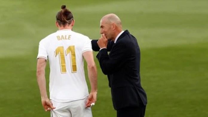 Zinedine Zidane no tiene en sus planes a Gareth Bale y el jugador galés pide salir del Real Madrid (REUTERS)