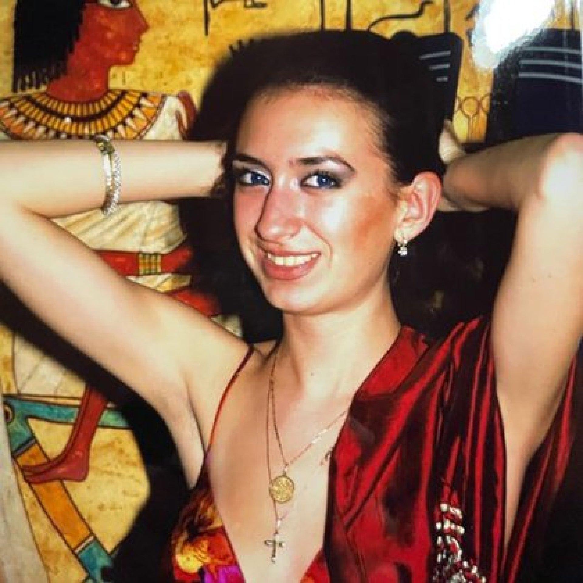 La modelo ucraniana a los 26 años (IG: @_just__queen_)