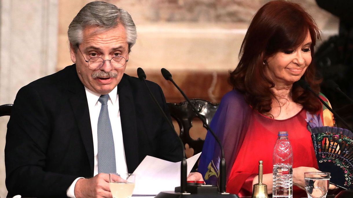 Alberto Fernández y Cristina Kirchner (AFP)