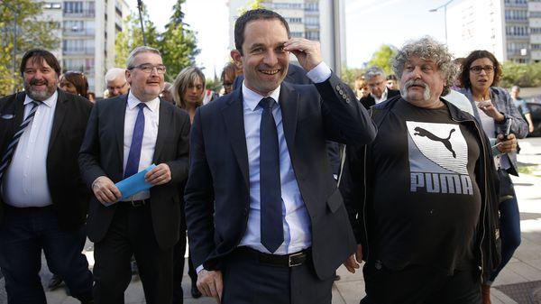 Benoit Hamon, del Partido Socialista(Reuters)