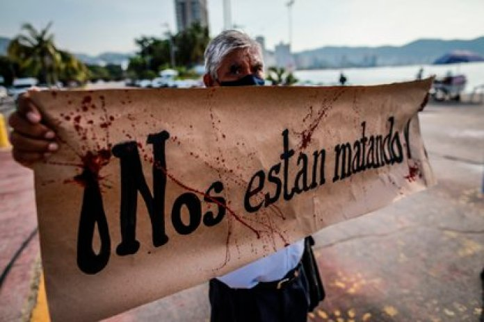 39,000 homicides occurred and 86,000 disappeared were registered in 2019 (Photo: EFE / David Guzmán)